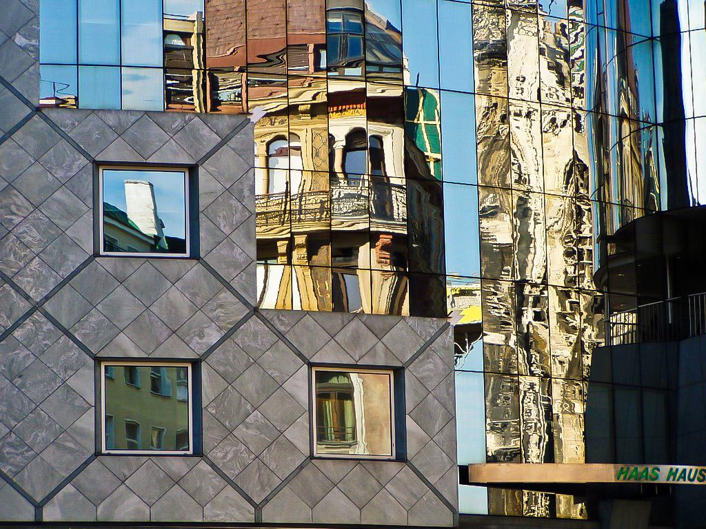 Haas Haus, postmodernismo en