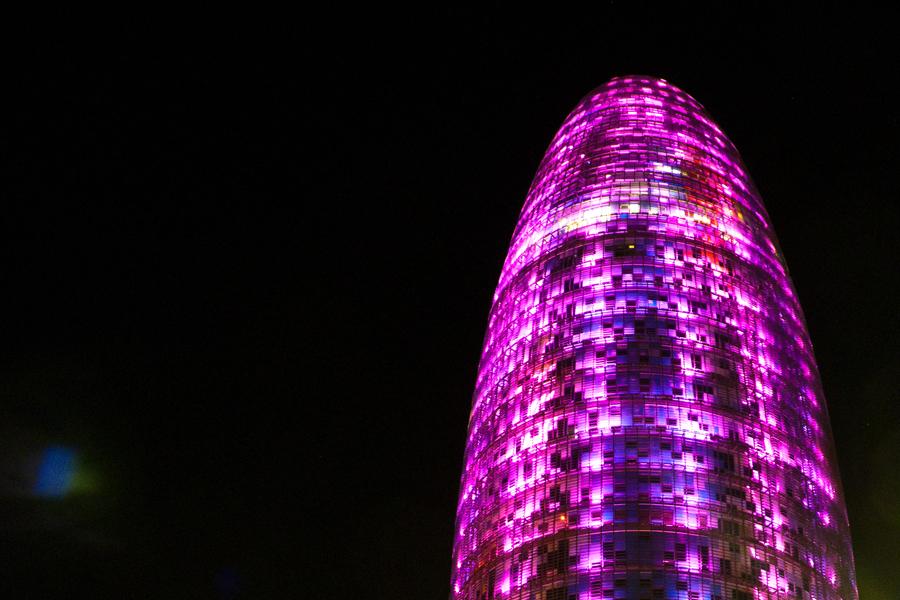 Torre Agbar. Barcelona