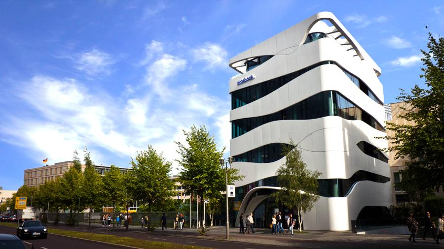 Otto bock healthcare la nueva arquitectura de berl n for Arquitectura minimalista edificios